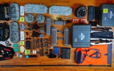Antartida: grabar sonido en un medio ambiente hostil